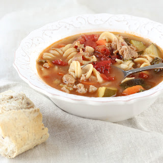 Healthy Italian Turkey Sausage Soup