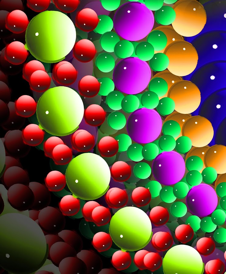 abstract balls by Capucino Julio - Illustration Abstract & Patterns ( abstract, pattern, colorful, rounds, design )