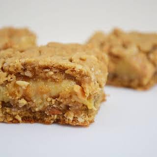Peanut Butter Caramel Oat Slice.