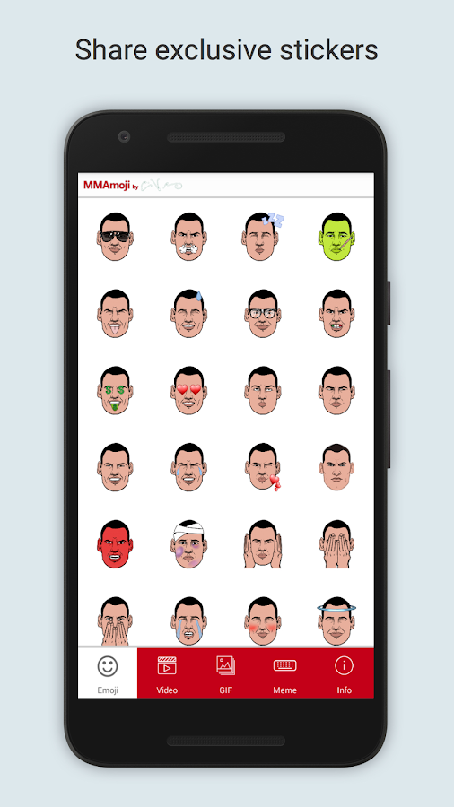MMAmoji by Cain Velasquez- screenshot