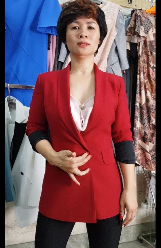 mix đồ áo Vest Nữ với quần Ống Loe thời trang thuỷ hải phòng