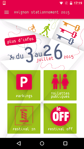 Avignon Stationnement Festival
