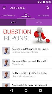 App-O-Logia - náhled