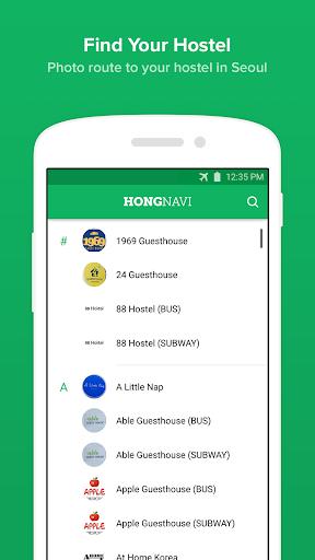 HongNavi – Seoul Offline Map