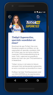 TinQ4u app- screenshot thumbnail