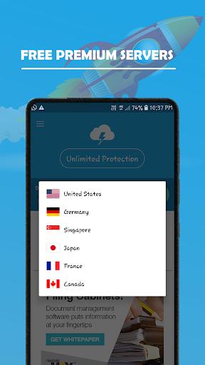 VPN Plus - Fast, Free VPN Proxy, Unlimited 2.0 screenshots 1