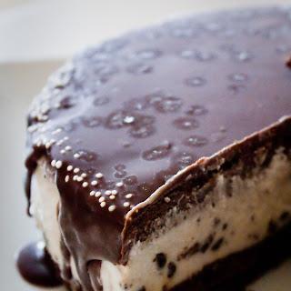 Ice Cream Brownie Cake