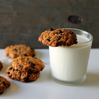 Wild Blueberry Oatmeal Cookies.