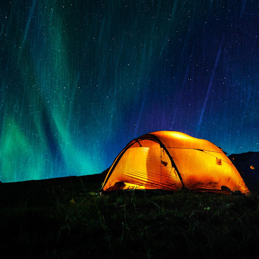 & Tent Rain - White Noise Market
