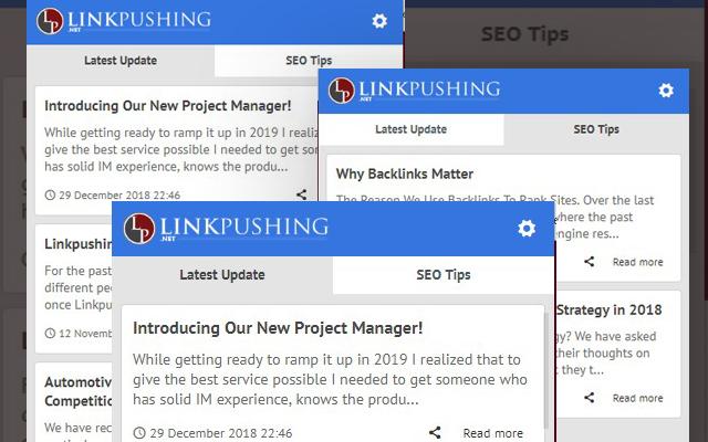 Link Pushing - Latest Linkbuilding Tips Blog