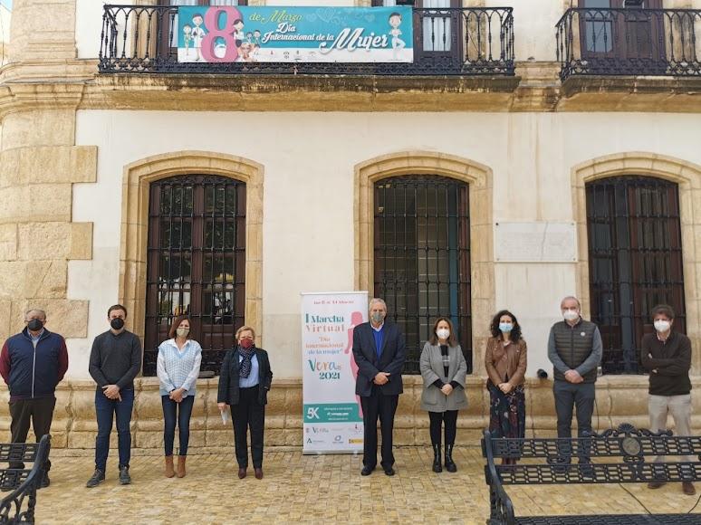 Acto celebrado en el municipio de Vera.