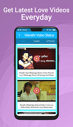 marathi love story whatsapp status video download
