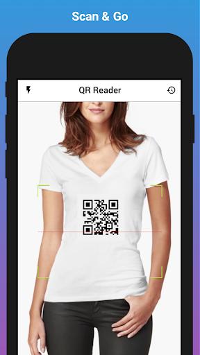 QR Code Reader & Scanner screenshot 1