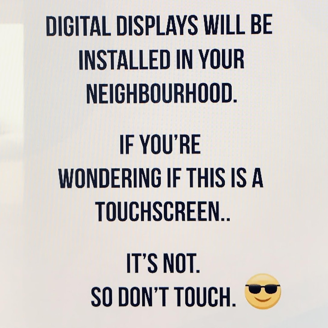 Not a touchscreen?