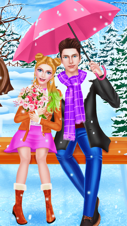 Sweet Date Couple Makeover Spa- screenshot