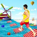 Water Stuntman Running Adventure icon