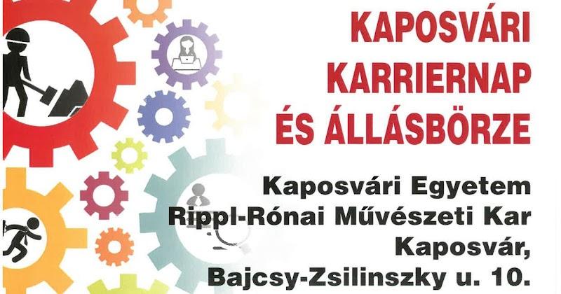 Állásbörze Kaposváron 2017. szeptember 28
