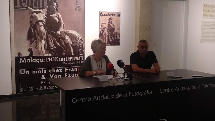 Eloísa Cabrera, en la presentación del CAF.