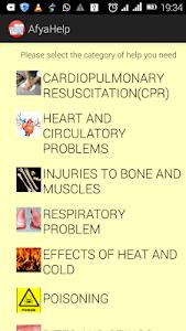 Easy First Aid screenshot 0