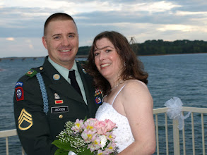Photo: Military Wedding Lake Hartwell at family home 7/09-   ~ www.Wedding Woman.net ~