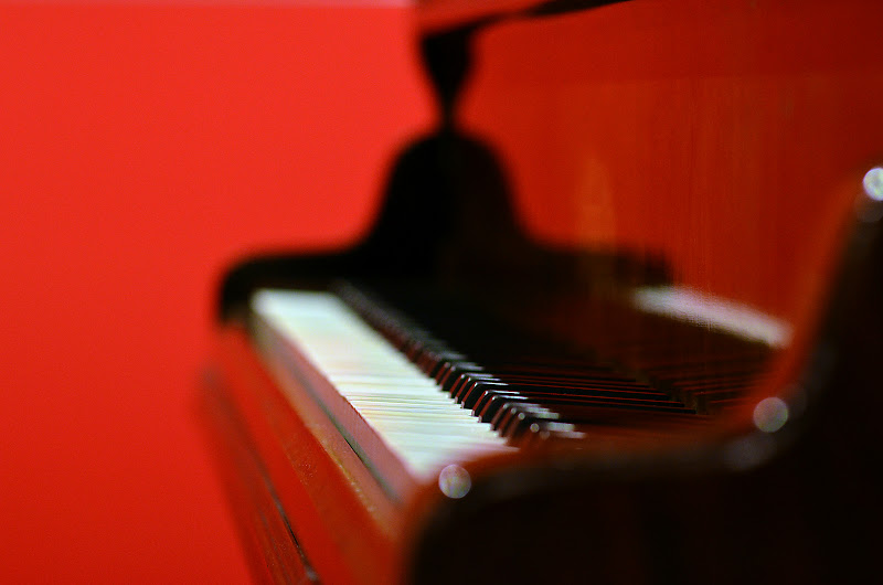 pianoforte red passion di nicoletta lindor