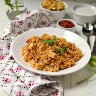 Quick Paneer Pulao (Pressure Cooker Method) Recipe