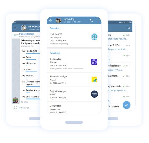 Flinkhub - University groups built on telegram OS. ss1