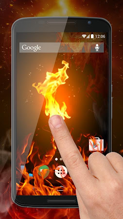 Fire Screen Prank 1.0 screenshot 129876