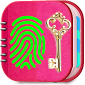 My Personal Diary with Fingerprint & Lock