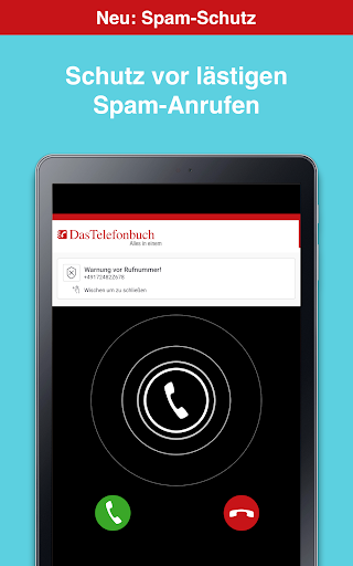Das Telefonbuch with caller ID and spam protection 6.3.1 screenshots 9