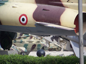 Photo: Back end of a plane in the Egyptian military museum.