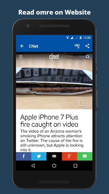 Technology News Mobile App- screenshot
