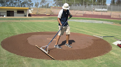 Photo: Using a level board and letting the tool do the work of where the clay goes.