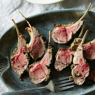 Herb and Mustard-Crusted Rack of Lamb
