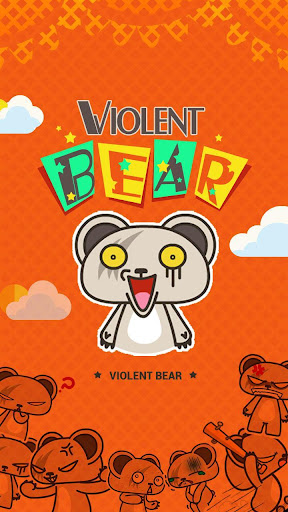 Kika Pro Violent Bear Sticker