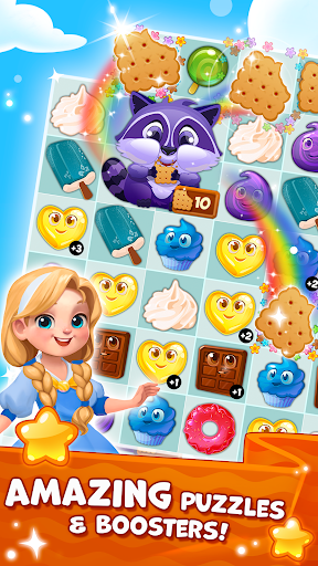 Candy Valley - Match 3 Puzzle apkpoly screenshots 13