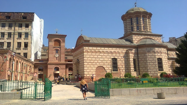 Old Court Church in Bucharest
