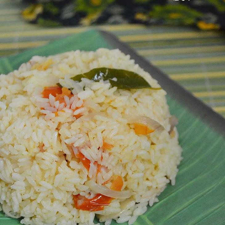 Thakkali Neychoru ~ Tomato Ghee Rice Recipe