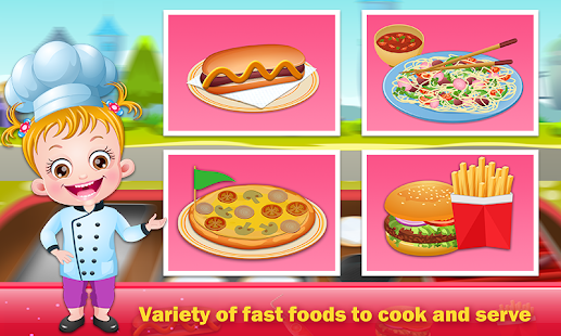 Baby Hazel Food Truck- screenshot thumbnail