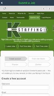 KStaffing- screenshot thumbnail