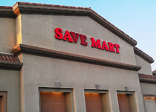 Photo: I brought my daughter with me to be my little helper. We arrived at Save Mart in the late afternoon.