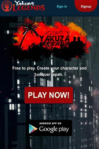 Yakuza Legends - Free MMORPG