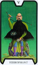 Photo: .V. Hierophant - O Hierofante Tarot of the Witches - Fergus Hall