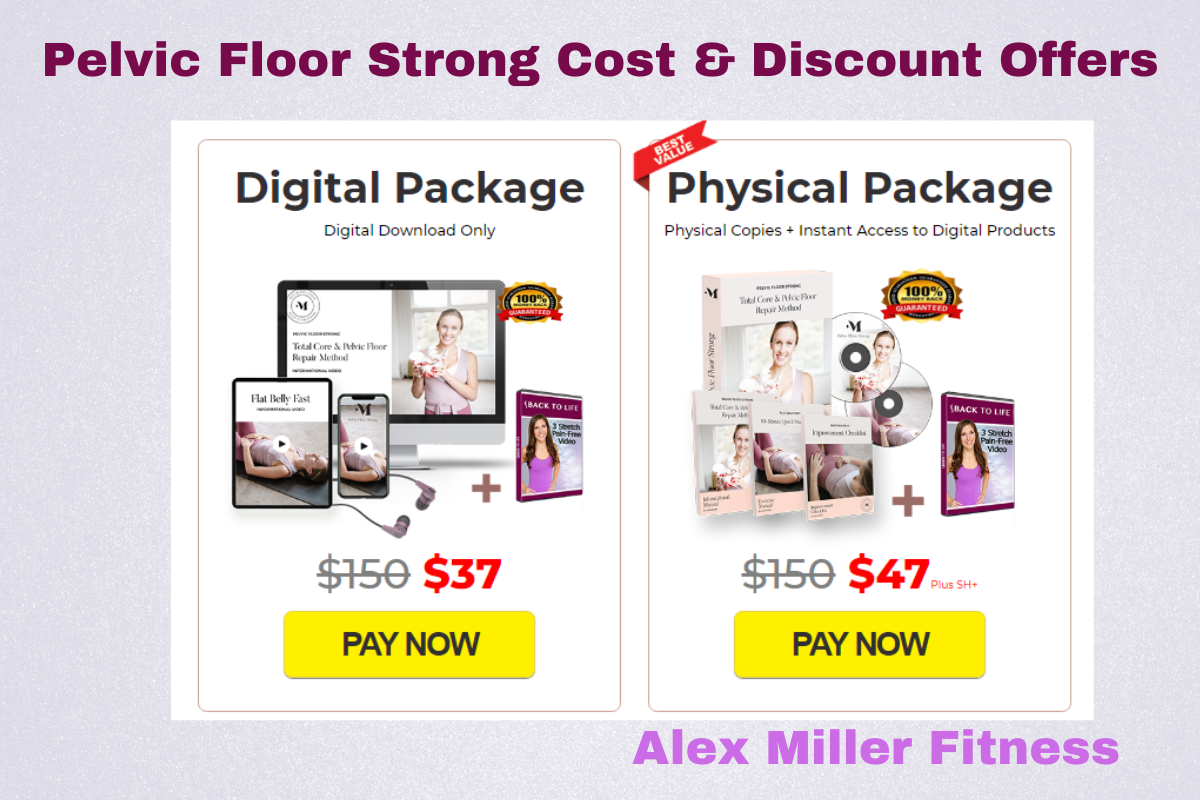 Pelvic Floor Strong Cost and Discount Offers