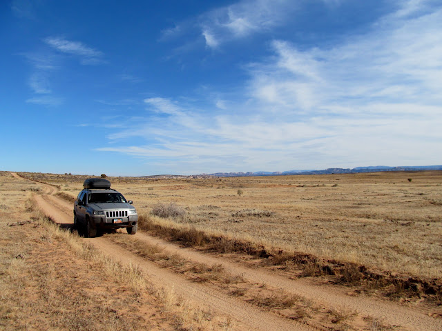 Superhighway at Waterhole Flat