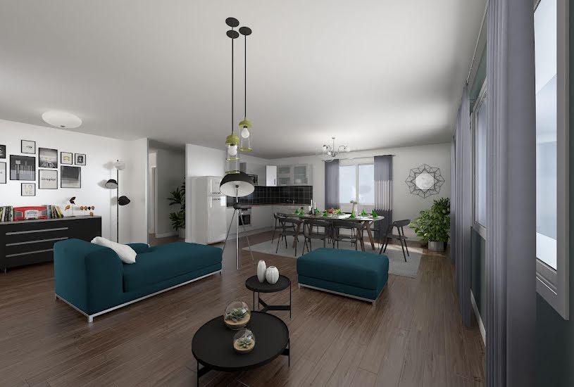 Vente Terrain + Maison - Terrain : 1200m² - Maison : 110m² à Saumur (49400)