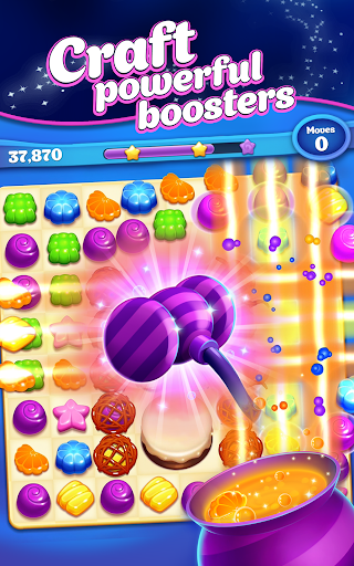Crafty Candy u2013 Match 3 Adventure apkpoly screenshots 8