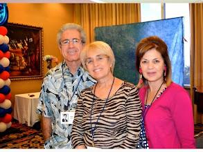 Photo: The Kleins -- Ron '66, Sarina '63 and Lori '67