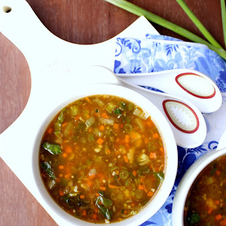 Chinese Hot & Sour Soup – Vegetable Hot & Sour Soup.