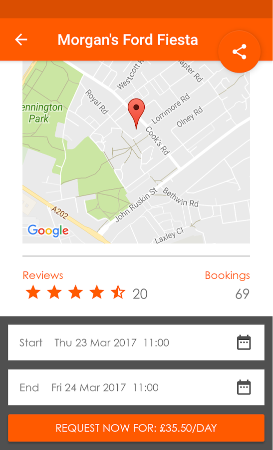 easyCar Club- screenshot
